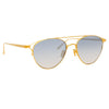 Linda Farrow Omar C7 Aviator Sunglasses