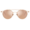 Linda Farrow Ali C3 Oval Sunglasses