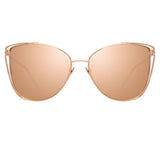 Linda Farrow Amina C3 Cat Eye Sunglasses