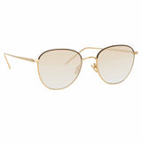 Linda Farrow 819 C21 Square Sunglasses