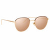 Linda Farrow 819 C23 Square Sunglasses
