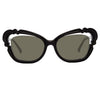 Linda Farrow Salma C1 Cat Eye Sunglasses