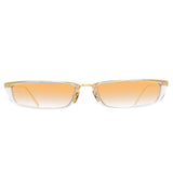 Linda Farrow 838 C6 Rectangular Sunglasses