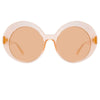 Linda Farrow Leighton C3 Oversized Sunglasses