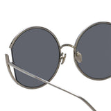 Linda Farrow Quarry C2 Round Sunglasses