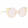 Linda Farrow 854 C9 Cat Eye Sunglasses