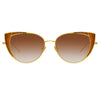 Linda Farrow Des Vouex C2 Cat Eye Sunglasses