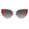 Linda Farrow Des Vouex C5 Cat Eye Sunglasses