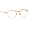 Linda Farrow Caine C1 Aviator Optical Frame