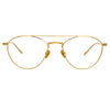 Linda Farrow Caine C8 Aviator Optical Frame
