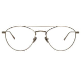 Linda Farrow Caine C9 Aviator Optical Frame