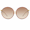 Linda Farrow Zanie C2 Oversized Sunglasses