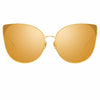 Linda Farrow Flyer C1 Cat Eye Sunglasses