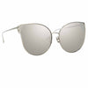 Linda Farrow 895 C2 Cat Eye Sunglasses