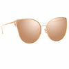 Linda Farrow Flyer C3 Cat Eye Sunglasses