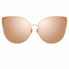 Linda Farrow 895 C3 Cat Eye Sunglasses