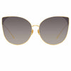 Linda Farrow Flyer C4 Cat Eye Sunglasses