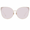 Linda Farrow Flyer C5 Cat Eye Sunglasses