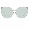 Linda Farrow 895 C6 Cat Eye Sunglasses