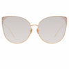 Linda Farrow Flyer C8 Cat Eye Sunglasses