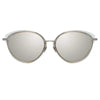 Linda Farrow Ivy C5 Cat Eye Sunglasses
