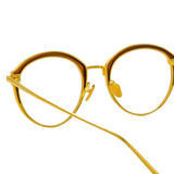 Linda Farrow Stanley C1 Oval Optical Frame