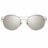 Linda Farrow Cradle C2 Oval Sunglasses