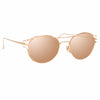 Linda Farrow 944 C3 Oval Sunglasses