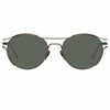 Linda Farrow Cradle C6 Oval Sunglasses