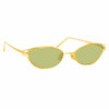 Linda Farrow 947 C1 Cat Eye Sunglasses