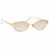 Linda Farrow 947 C4 Cat Eye Sunglasses