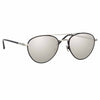 Linda Farrow Brodie C4 Aviator Sunglasses