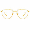 Linda Farrow Auguste C1 Aviator Optical Frame