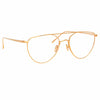 Linda Farrow 974 C3 Aviator Optical Frame