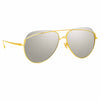 Linda Farrow Colt C1 Aviator Sunglasses