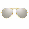 Linda Farrow 975 C1 Aviator Sunglasses