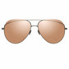 Linda Farrow 975 C4 Aviator Sunglasses