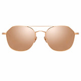 Linda Farrow 977 C3 Square Sunglasses