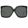 Linda Farrow Dare C1 Oversized Sunglasses