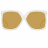 Linda Farrow Dare C6 Oversized Sunglasses
