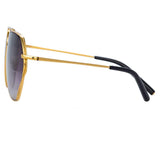Matthew Williamson Lotus C1 Aviator Sunglasses