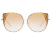 Matthew Williamson Orchid C2 Oversized Sunglasses