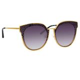 Matthew Williamson 228 C1 Oversized Sunglasses