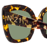 N°21 S21 C2 Oversized Sunglasses