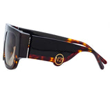 N°21 S36 C7 Flat Top Sunglasses