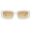 N°21 S37 C1 Rectangular Sunglasses