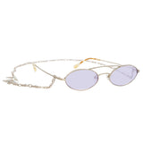 Alessandra Rich 2 C1 Oval Sunglasses
