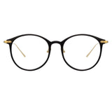 Linda Farrow Linear 02 C1 Oval Optical Frame