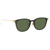 Linda Farrow Linear Wright C8 Rectangular Sunglasses
