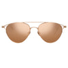 Linda Farrow Omar C3 Aviator Sunglasses